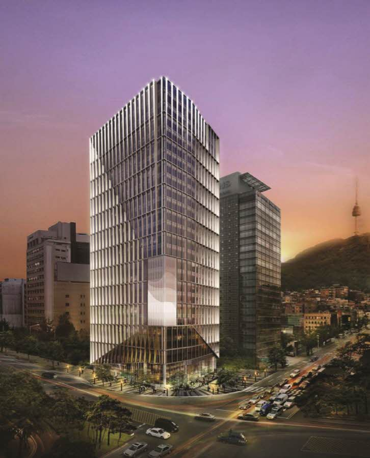 State Tower Namsan Facade Design Jaud Architects