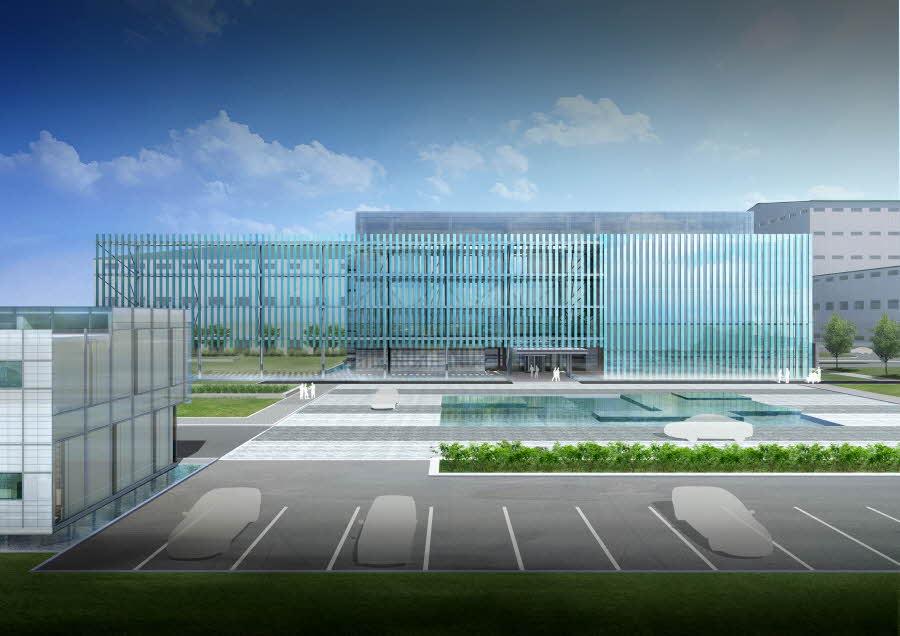 Nantong Hyosung Main Office Facade Design Jaud Architects
